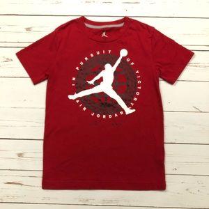 Jordan Jumpman Short Sleeve T Shirt Red